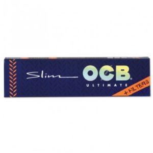 Bibułki OCB Ultimate Slim z filtrami