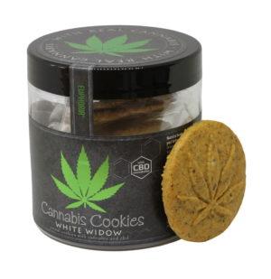 Ciastka Cannabis Cookies White Widow