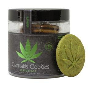 Ciastka Cannabis Cookies Original