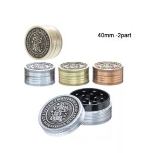 Grinder metalowy 2-częściowy 40mm