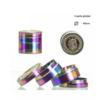 Grinder metalowy rainbow 4-częściowy 40mm
